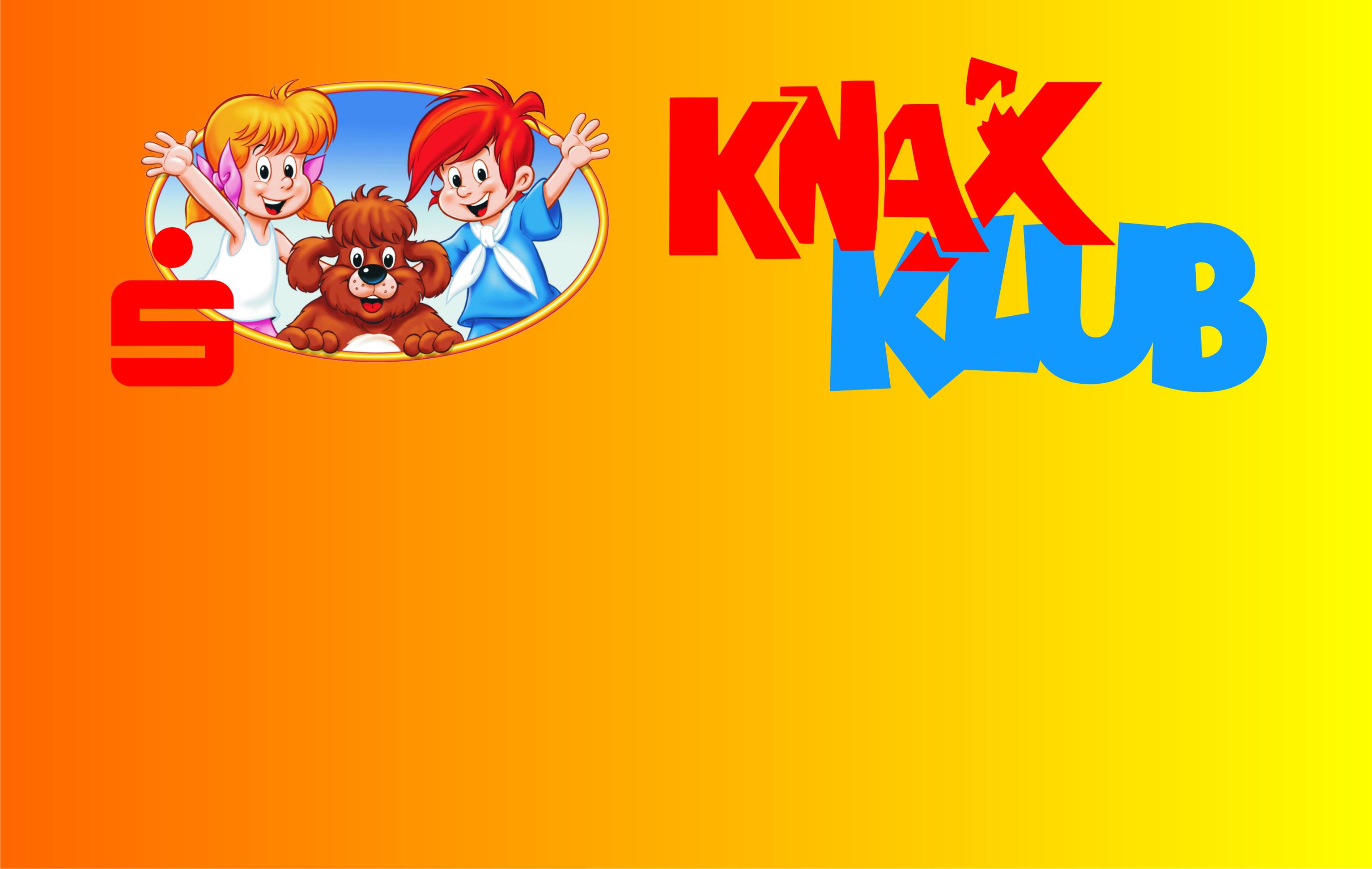 ANMELDEBEGINN für KnaxKlub-Mitglieder für die Veranstaltungen des KnaxKlubs