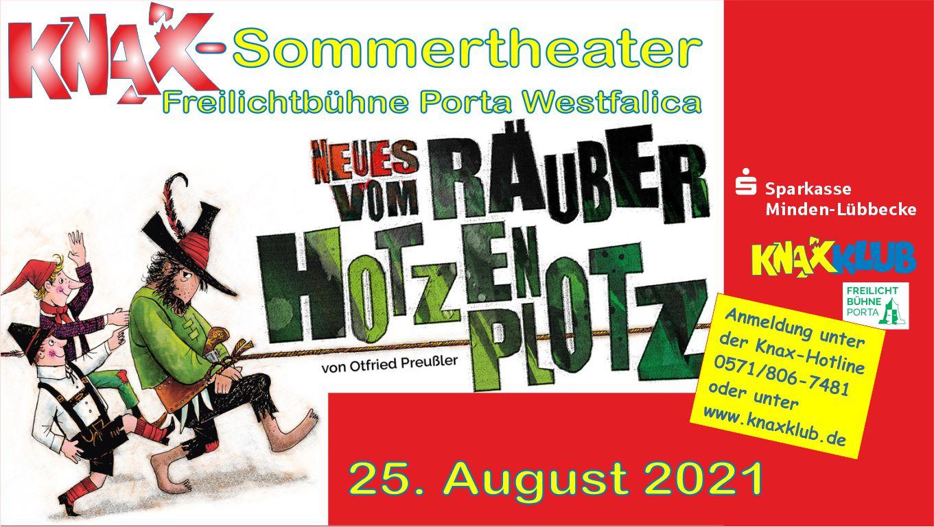 Knax-Sommertheater auf der Freilichtbühne Porta Westfalica